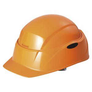 谷沢製作所 防災ヘルメット クルボ オレンジ O-01 - 拡大画像