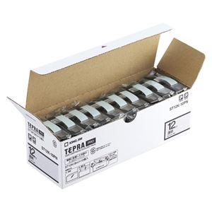 キングジム PROテープ エコパック 透明ラベル 12mm 10個入 ST12K-10PN - 拡大画像