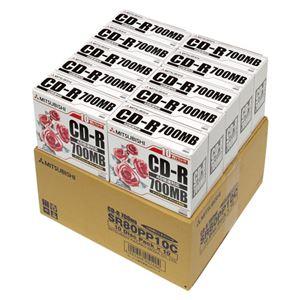 三菱化学メディア CD-R 700MB 100枚入 SR80PP10C - 拡大画像