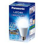(まとめ) パナソニックコンシュ LED電球 E26 広配光タイプ40W 昼光色【×5セット】