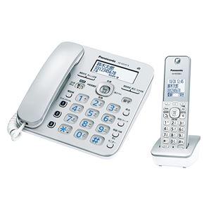 パナソニック コンシューマーマーケティング デジタルコードレス電話機 子機1台付 VE-GD37DL-S - 拡大画像