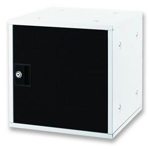 アスカ 組立式 シューズボックス ブラック SB800BK - 拡大画像