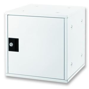 アスカ 組立式 シューズボックス ホワイト SB800W - 拡大画像