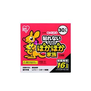 (まとめ) アイリスオーヤマ ぽかぽか家族 貼れないタイプ レギュラー 【×5セット】 - 拡大画像