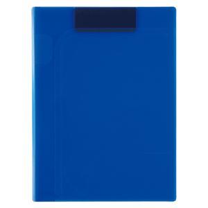 (まとめ) セキセイ ActifV クリップファイル マグネプラス A4判 タテ型 コバルトブルー 【×5セット】 - 拡大画像