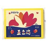 (まとめ) ゴークラ お花紙五色鶴 500枚入 黄色 【×10セット】