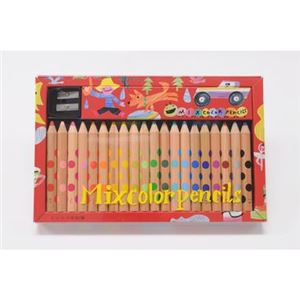 コクヨS&T KE-AC2 ミックス色鉛筆20本
