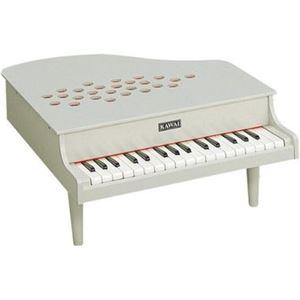 河合楽器製作所 11256 ミニピアノ アイボリー 【つみき・木製玩具】 - 拡大画像
