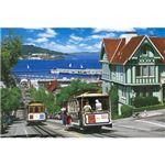 エポック社 75-017 サンフランシスコのケーブルカー 【ジグソーパズル】