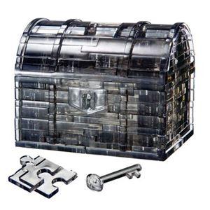 ビバリー 50137 クリスタルパズル トレジャーボックス ブラック - 拡大画像