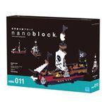nanoblock(ナノブロック) カワダ NBM-011 海賊船
