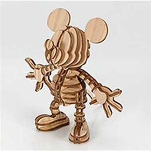 アキ工作社 A01102910 ミッキーマウス Mickey098_wood - 拡大画像