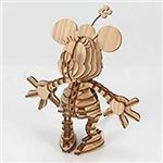 アキ工作社 A01202910 ミニーマウス Minnie098_wood