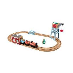マテルインターナショナル FRR70 ジェームスのスノーレールセット 【知育玩具】 - 拡大画像