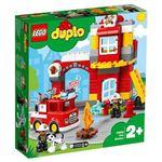 レゴジャパン 10903 光る!鳴る!消防車と消防署 【LEGO】