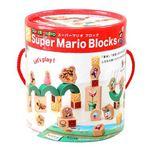 カワダ 832082 スーパーマリオ ブロック (つみき・木製玩具)