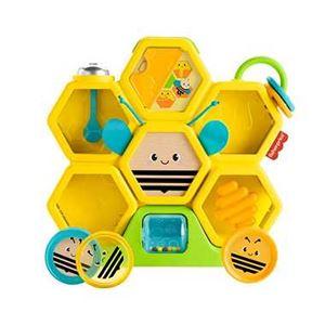 マテルインターナショナル GWB91 感覚を育てよう!コロコロおとそうミツバチ - 拡大画像