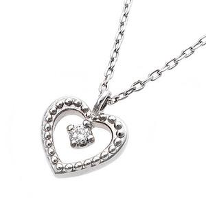 モチーフペンダントのダイヤモンドネックレス