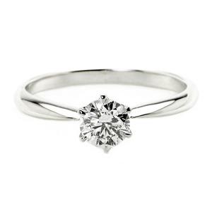 ダイヤモンド ブライダル リング プラチナ Pt900 0.4ct ダイヤ指輪 Dカラー SI2 Excellent EXハート&キューピット エクセレント 鑑定書付き 13号 - 拡大画像