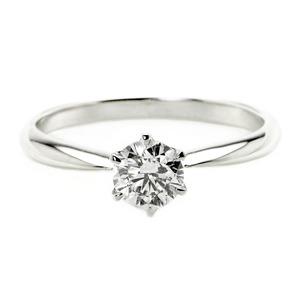 ダイヤモンド ブライダル リング プラチナ Pt900 0.4ct ダイヤ指輪 Dカラー SI2 Excellent EXハート&キューピット エクセレント 鑑定書付き 15号 - 拡大画像