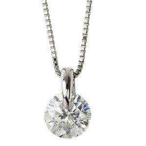 ダイヤモンド ネックレス 一粒 1.2カラット プラチナ Pt900 大粒 ダイヤネックレス 一点留 Gカラー SI2 Excellent エクセレント 鑑定書付き - 拡大画像