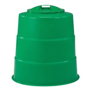 三甲(サンコー) コンポスターセット/生ゴミ処理容器 【330L】 300型 グリーン(緑) - 拡大画像