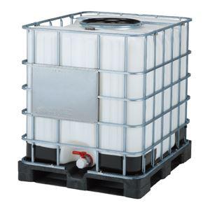 三甲(サンコー) サンバルク(液体輸送容器) #1000TC-450 セット ブラック(黒)×ホワイト(白) - 拡大画像