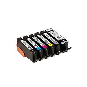 【純正品】 Canon キャノン インクカートリッジ 【0732C004 BCI-371+370/6MP 6色パック】 - 拡大画像