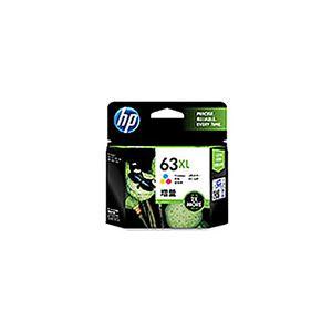 (業務用5セット) 【純正品】 HP インクカートリッジ 【F6U63AA HP63XL カラー】 増量 - 拡大画像