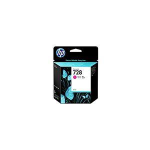 【純正品】 HP インクカートリッジ 【F9J62A HP728 M マゼンタ 40】 - 拡大画像