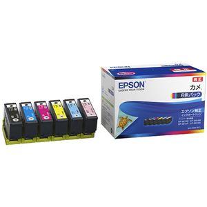 【訳あり・在庫処分】【純正品】 EPSON KAM-6CL インクカートリッジ カメ 6Cパック - 拡大画像