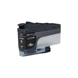 (まとめ)【純正品】 ブラザー LC3133BK インク 大容量 ブラック【×5セット】 - 拡大画像