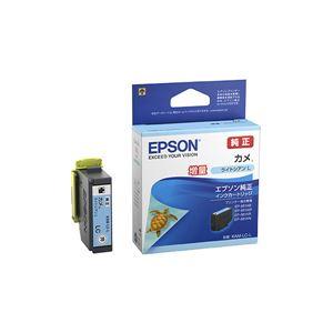 (業務用5セット)【純正品】 EPSON KAM-LC-L インクカートリッジ カメ LC-L - 拡大画像