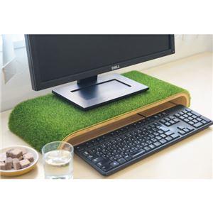 3E-DESKST4 木製デスクトップスタンド【SHIBA】 - 拡大画像