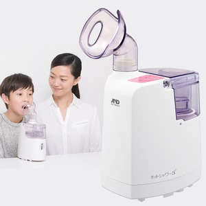 A&D(エーアンドデイ)口鼻両用 超音波温熱吸入器 ホットシャワー5 UN-135-P (ピンク) h02