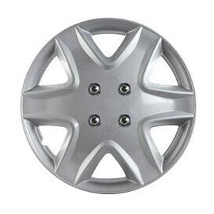 ホイールカバー 14インチ 4枚 スズキ ワゴンR (シルバー) 【ホイールキャップ セット タイヤ ホイール アルミホイール】