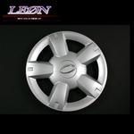 [LEON]12インチホイールカバー 4枚 汎用品 (シルバー)