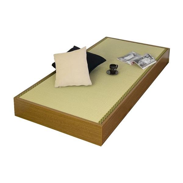 収納ベッドシングル通販 和室に似合うシンプル畳収納ベッド『ヘッドレス収納畳ベッド セミシングル D62-31-SS(畳)』