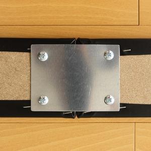 【トナリネ専用 連結金具】日本製 連結ベッド 照明付き フロアベッド  『Tonarine』トナリネ - 拡大画像