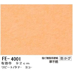無地調カラー壁紙 のりなしタイプ サンゲツ FE-4001 92cm巾 20m巻【防カビ】【日本製】 - 拡大画像
