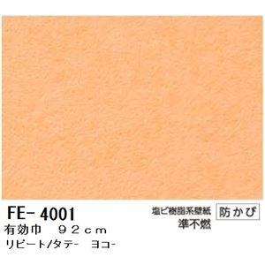 無地調カラー壁紙 のりなしタイプ サンゲツ FE-4001 92cm巾 40m巻【防カビ】【日本製】 - 拡大画像