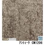 サンゲツ 店舗用クッションフロア アンティーク 品番CM-1206 サイズ 200cm巾×8m
