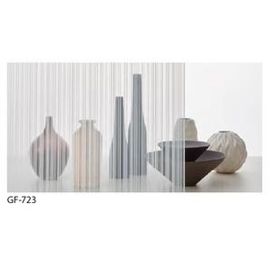 ストライプ 飛散防止 ガラスフィルム サンゲツ GF-723 92cm巾 3m巻 - 拡大画像