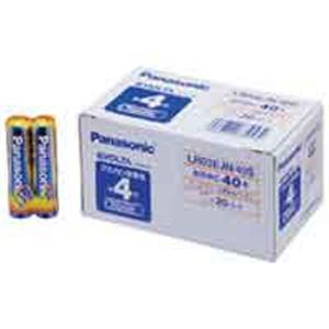(業務用10セット) Panasonic(パナソニック) エボルタ乾電池 単4 40個 LR03EJN40S ×10セット - 拡大画像