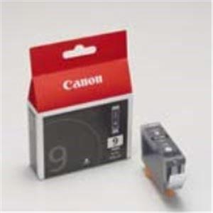 Canon キヤノン インクカートリッジ 純正 【BCI-9BK】 3本入り ブラック(黒) - 拡大画像