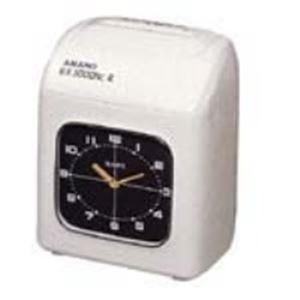 アマノ タイムレコーダー EX-3000NC 白 - 拡大画像