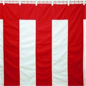 八光舎 紅白幕 3間物 180×540cm - 拡大画像