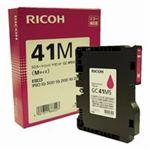 (業務用5セット) RICOH(リコー) ジェルジェットカートリッジ GC41Mマゼンタ