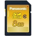 Panasonic(パナソニック) メモリーカード 8GB RP-SDWA08GJK