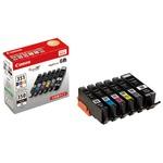 Canon キヤノン インクカートリッジ 純正 【BCI-351XL+350XL/6MP】 6色パック(ブラック×2・シアン・マゼンタ・イエロー・グレー)